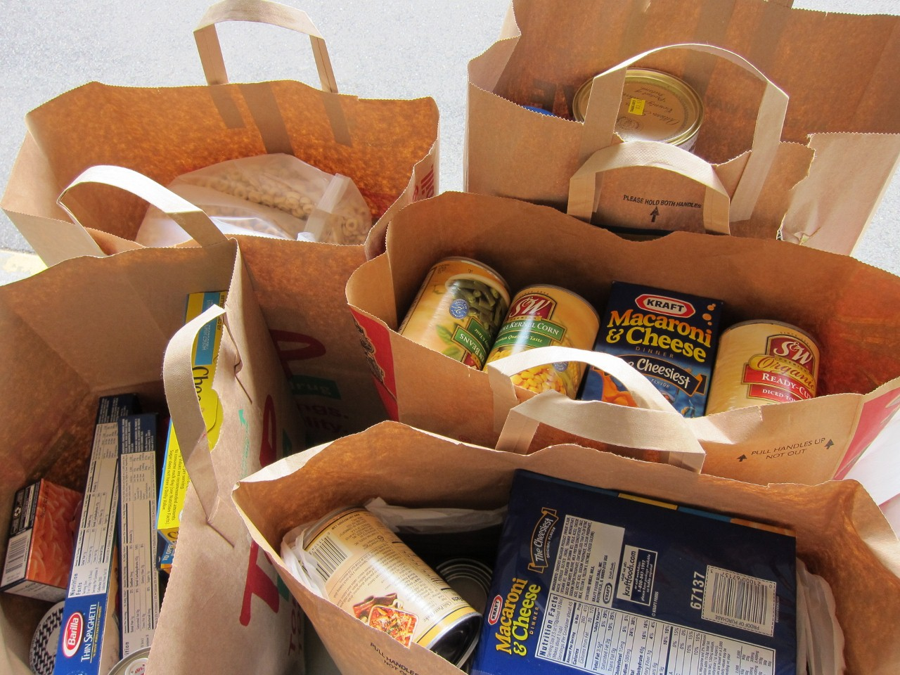 Thanksgiving Food Drive List