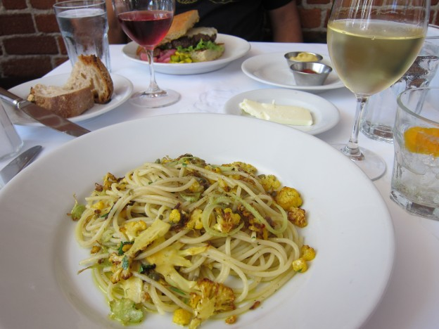 Zuni Cafe Spaghetti with Cauliflower