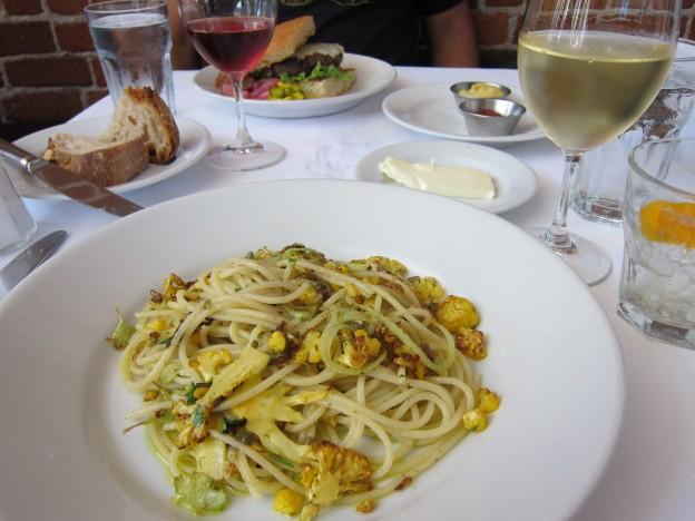 Zuni Cafe Spaghetti with Cauliflower