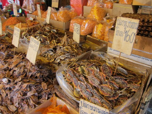 Bangkok dried fish