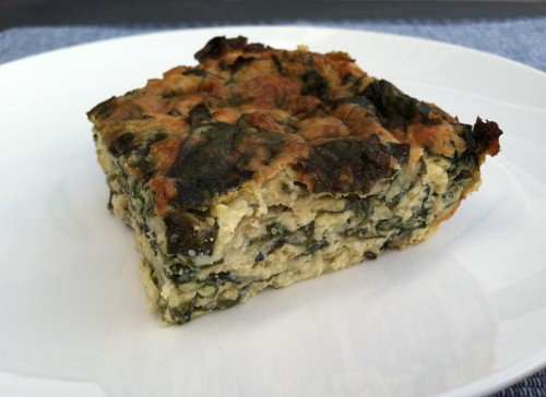 Crustless Chard Quiche 1