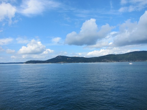 The Ferry from Anacortes to Friday Harbor
