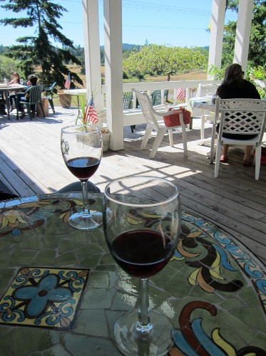 Wine tasting at San Juan Vineyards