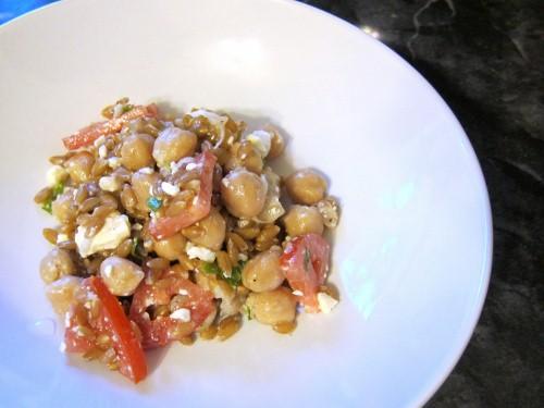 Garbanzo Bean Brown Rice Mint Salad (500x375)