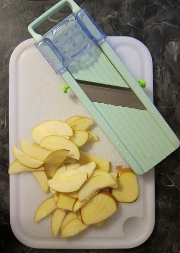 Mandoline Slicer and apples