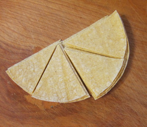 Tortilla Chips, raw