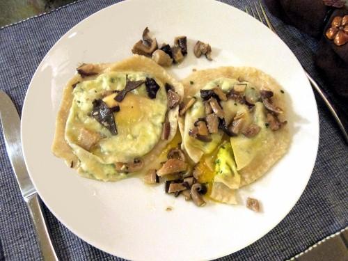 Egg and Ricotta Ravioli